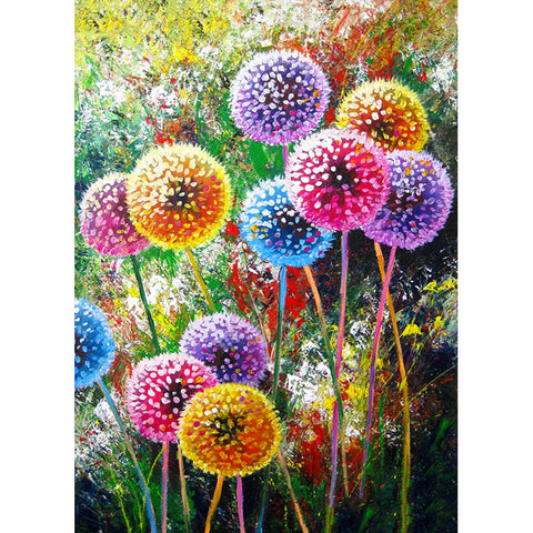 Diamond Painting-5D Full Square Drill Dandelion (40*50 cm)
