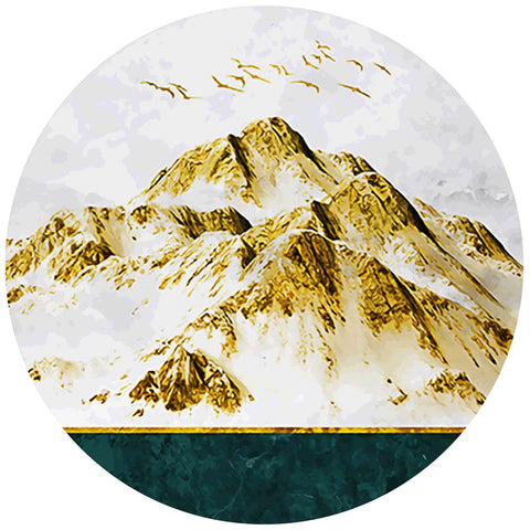 Diamond Painting-DIY Full Round Drill Mountains (40*40cm)