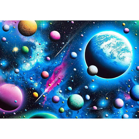 Diamond Painting-5D Full Round Drill Universe