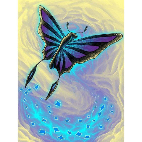 Diamond Painting-DIY Full Round Drill Butterfly