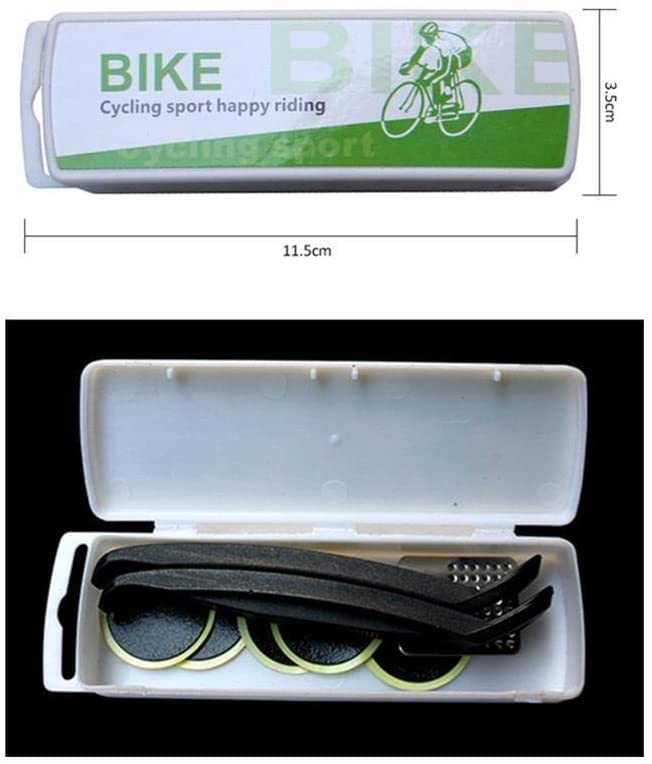 Bicycle Repair Kit Mountain Bike Tools, Super Patch Puncture Portable Repair Kit