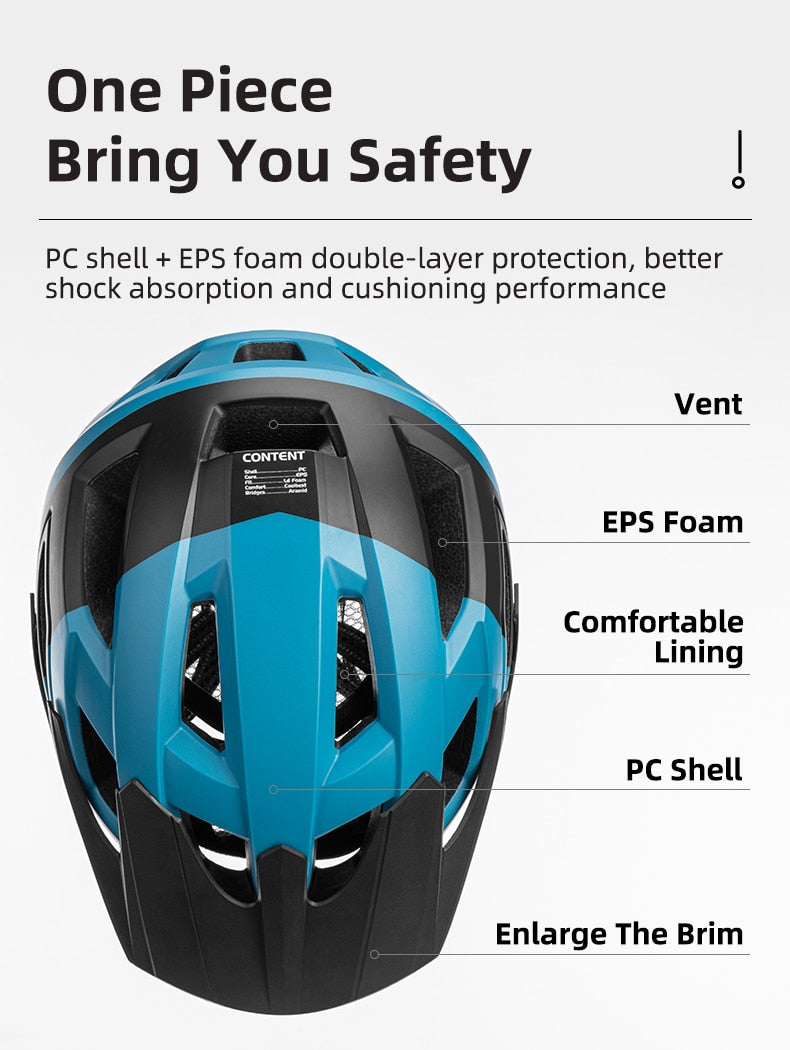 Electric Bicycle Helmet Men Women Breathable Shockproof MTB Road
