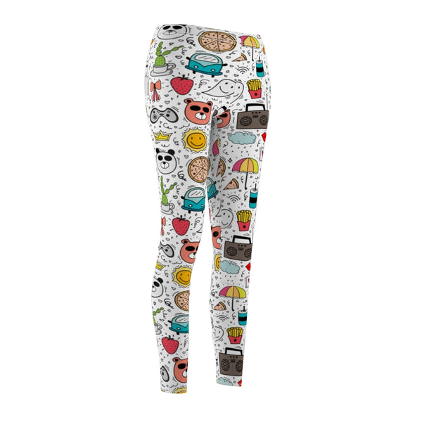 Women's All Over Print Casual Leggings