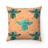 Decorative Square Pillow Cover (No Insert)