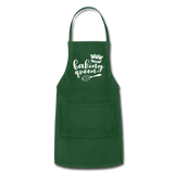 Baking Queen Adjustable Apron - forest green