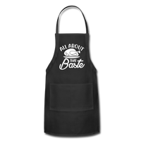All About That Baste Adjustable Apron - black
