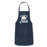 All About That Baste Adjustable Apron - navy