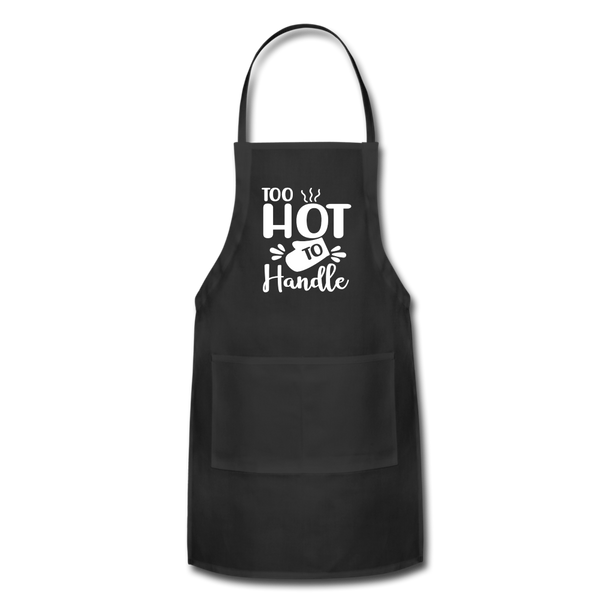 Too Hot To Handle Adjustable Apron - black