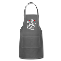 No Bitchin' In My Kitchen Adjustable Apron - charcoal