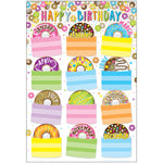 DONUTFETTI BIRTHDAYS 13 X 19 CHART