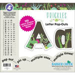 4IN LETTER POPOUTS PRICKLES