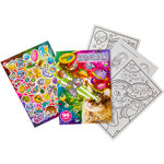 COSMIC CATS 96 PG COLORING BOOK