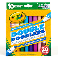 10 CT WASHABLE DOUBLE DOODLERS