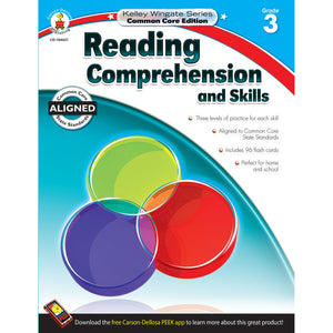 Reading Comprehension and Skills Workbook, Grade 3