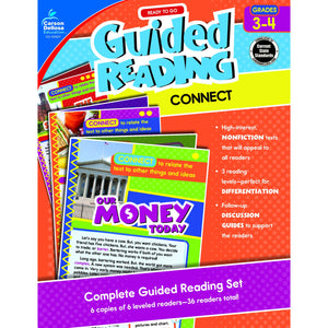 Guided Reading: Connect Resource Book, Grades 3-4