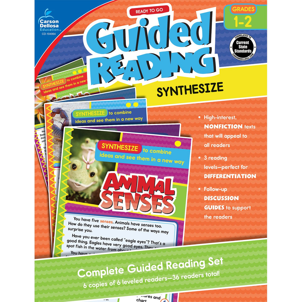 Guided Reading: Synthesize Resource Book, Grade 1-2