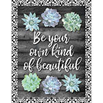 BE YOUR OWN KIND OF BEAUTIFUL CHART