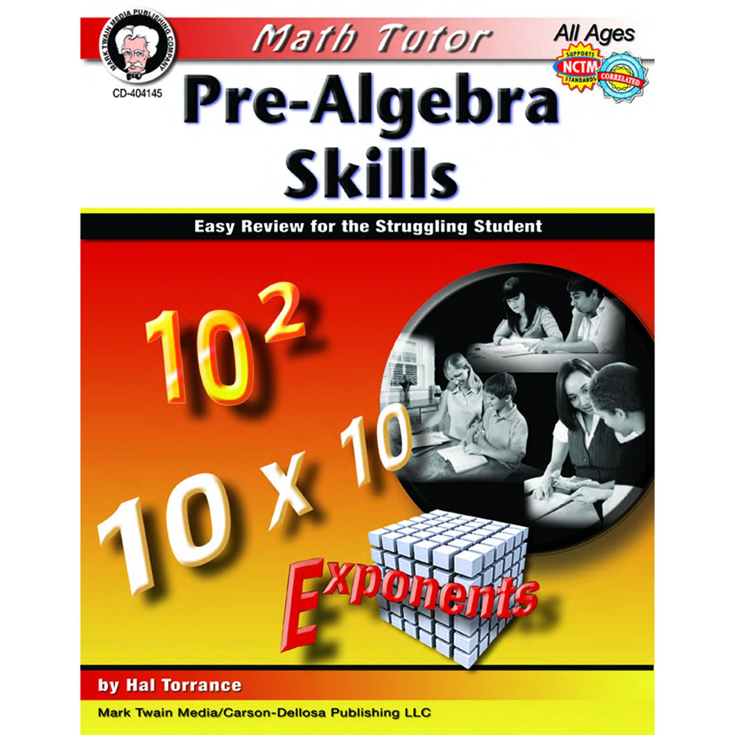 Math Tutor: Pre-Algebra Books - Math