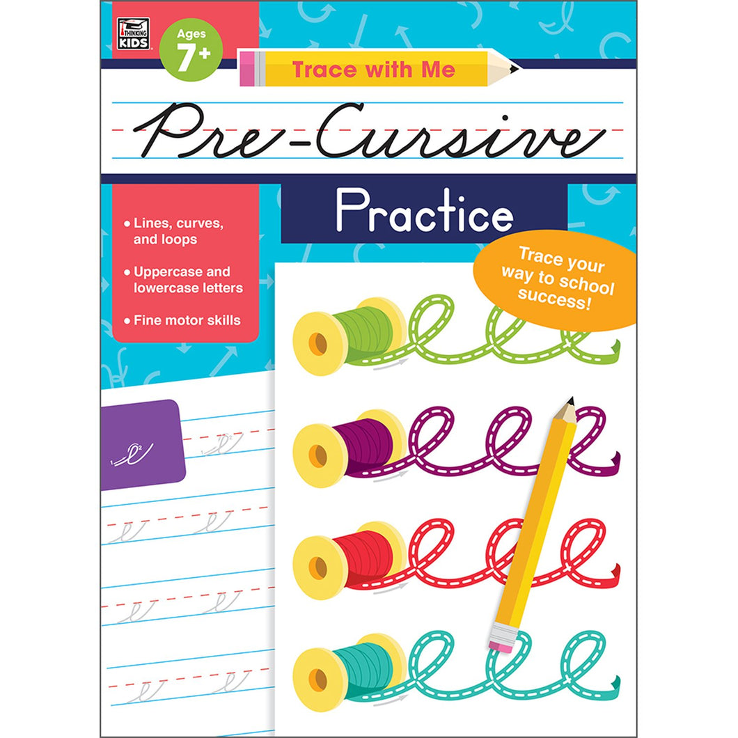 Pre-Cursive Practice Activity Book Grade 2-5