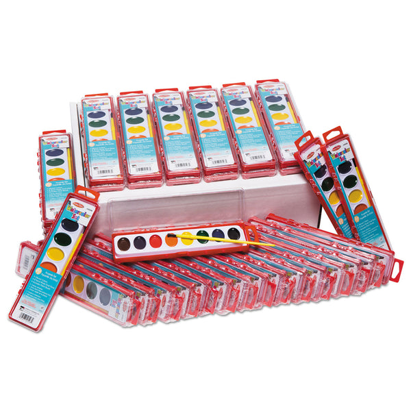 8 ASST WATER COLOR PAINT SET 36/ST