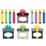 6IN BOLD BRIGHT BIRTHDAY CUT OUTS
