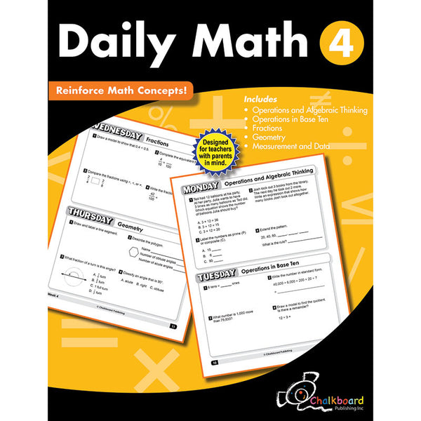 GR4 DAILY MATH WORKBOOK