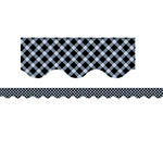 BLACK GINGHAM BORDER