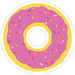 DONUT 6IN DESIGNER CUT-OUTS