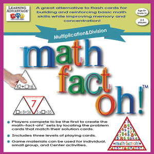 math-fact-oh!™ Multiplication & Division Game