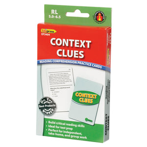 Context Clues Practice Cards, Levels 5.0-6.5