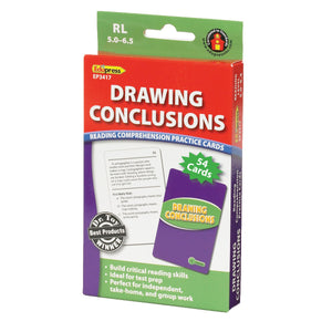 Drawing Conclusions Reading Comprehension Cards, Reading Levels 5.0-6.5