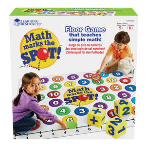 Math Marks the Spot™ Game