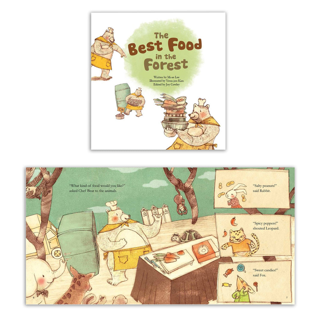 Math Storybooks, The Best Food in the Forest (Picture Graphs)