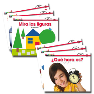 En Español: Sight Word Reader Math, Set of 16