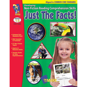 Just The Facts Grade 1-3 Developing Non-Fiction Reading Comprehension