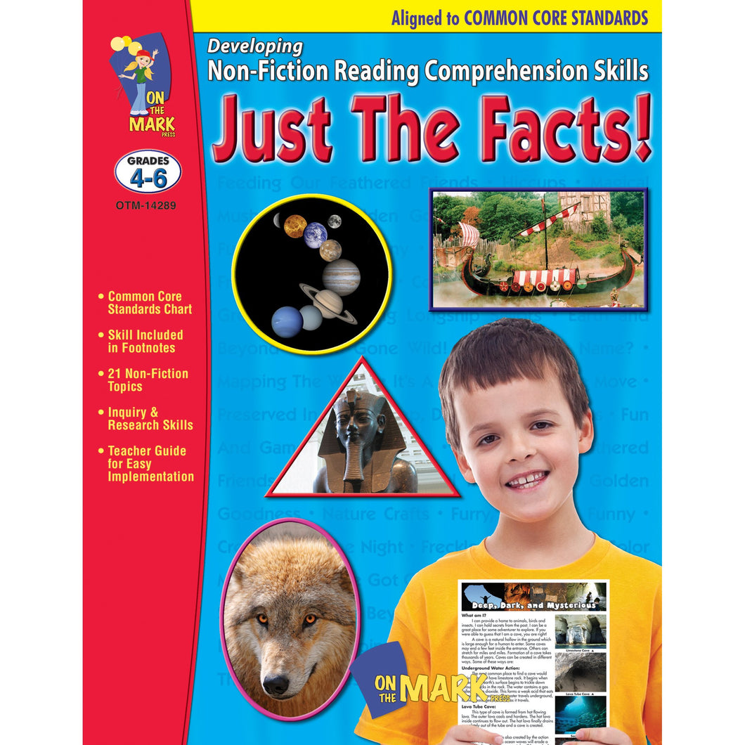 Just The Facts Grade 4-6 Developing Non-Fiction Reading Comprehension