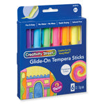 TEMPERA PAINT STICKS 6 FLUOR CLRS