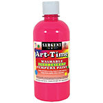 ARTTIME FLUORESCENT PAINT 16 OZ PNK