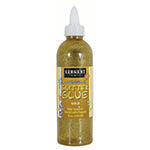 8OZ GLITTER GLUE - GOLD