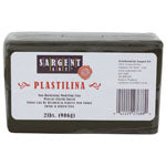 SARGENT ART PLASTILINA 2 LBS BROWN