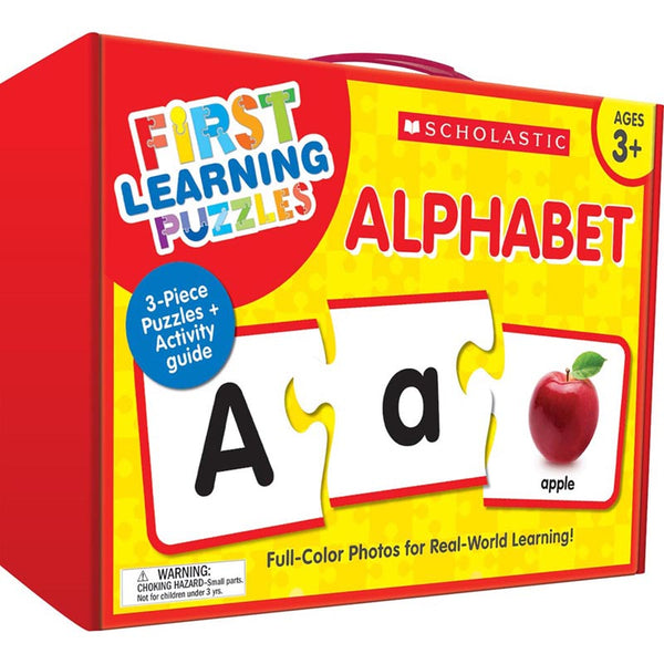FIRST LEARNING PUZZLES ALPHABET
