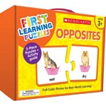 FIRST LEARNING PUZZLES OPPOSITES