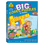 BIG WORKBOOK CODES PUZZLES AND MORE