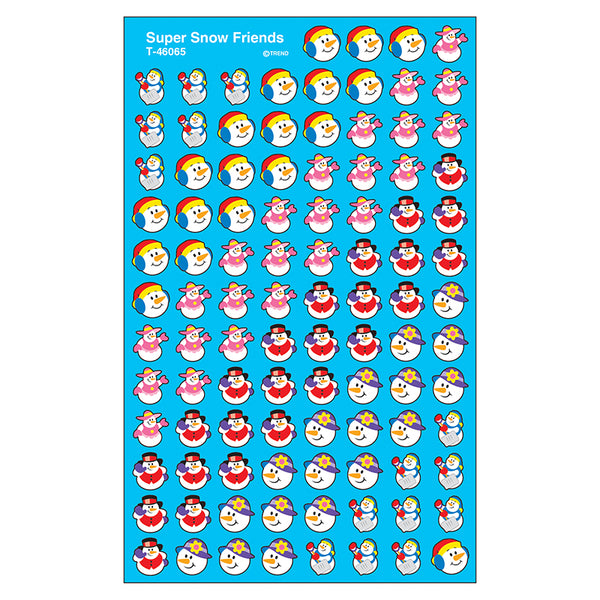 SUPERSHAPES STICKERS SNOW FRIENDS