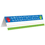 LEFT RIGHT ALPHABET TENT NAME PLATE