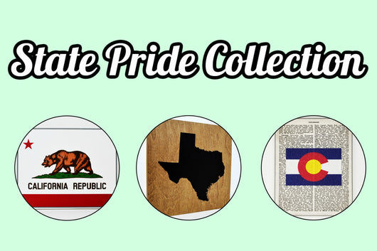 Cranberry Collective Home State Pride Wall Decor Collection