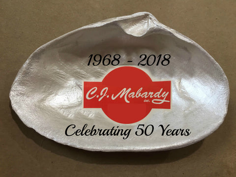 Custom C.J. Mabardy Shell Dishes (Deposit) - Cranberry Collective - Cape Cod Gifts - Beach and Nautical Decor