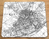 19th century Ordnance Survey maps professionally printed onto placemats. An ideal and unusual gift!  Find out what your area was like in the past. The map covers an area of 2km x 2.4km and is highly detailed. Perfect for using as tableware and a great talking point.  The OS map can be centered on a postcode or area of your choice. You might personalise it by choosing a location of a birthplace, marriage venue or current home to make a thoughtful and historically interesting present.