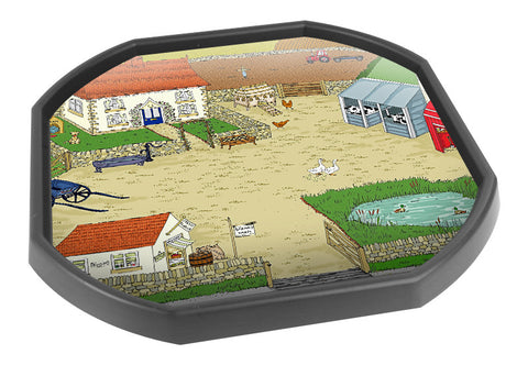 Sarah's Farm Tuff Tray Mat (Black Tray Not Included)