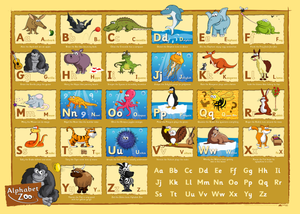 Alphabet Zoo ABC Poster